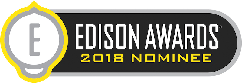 Official Nominee of the 2018 Edison Awards